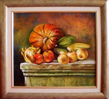 Obraz do salonu artysty Beata Krystek-Borkowska pod tytułem Dynie