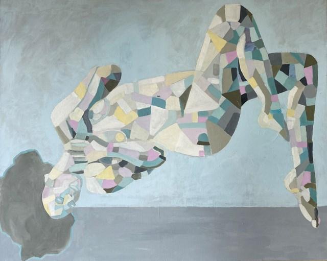 Obraz do salonu artysty Urszula Teperek pod tytułem GAJA - DZIEŃ
