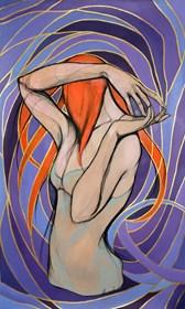 Obraz do salonu artysty Aleksandra Wiszniewska pod tytułem Donna Klara
