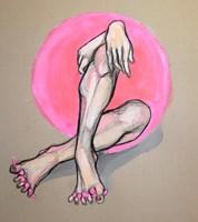 Obraz do salonu artysty Aleksandra Wiszniewska pod tytułem W blokach startowych 2