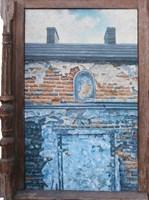 Obraz do salonu artysty Jan Bembenista pod tytułem Miejsce po kapliczce 2