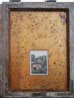 Obraz do salonu artysty Jan Bembenista pod tytułem Stara cegielnia