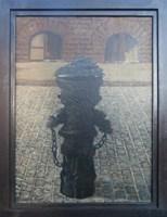 Obraz do salonu artysty Jan Bembenista pod tytułem Stary hydrant
