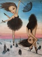 """Obraz do salonu artysty Estera Parysz-Mroczkowska pod tytułem """"Line of Life"""""""