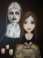"""Obraz do salonu artysty Estera Parysz-Mroczkowska pod tytułem """"Devil's iPad"""""""