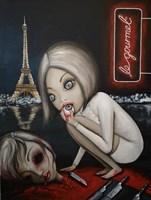 "Obraz do salonu artysty Estera Parysz-Mroczkowska pod tytułem ""Chef recommends... """