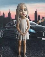 Obraz do salonu artysty Estera Parysz-Mroczkowska pod tytułem Cannibals of the soul