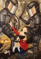 Obraz do salonu artysty Estera Parysz-Mroczkowska pod tytułem Right to freedom