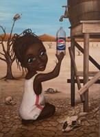 Obraz do salonu artysty Estera Parysz-Mroczkowska pod tytułem Water is life