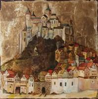 Obraz do salonu artysty Sylwia Perczak pod tytułem Na wzgórzu