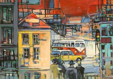 Obraz do salonu artysty Piotr Rembieliński pod tytułem W drodze
