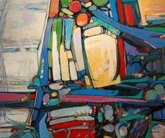 Obraz do salonu artysty Piotr Rembieliński pod tytułem Jesienny Poranek