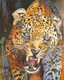 Obraz do salonu artysty Piotr Rembieliński pod tytułem Pantera