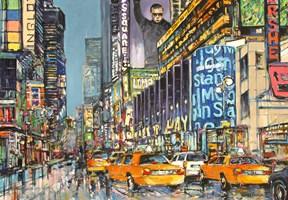 Obraz do salonu artysty Piotr Rembieliński pod tytułem NYC Manhattan