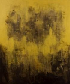 Obraz do salonu artysty Marta Chudzik pod tytułem Tajemnicze złoto