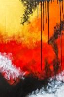 Obraz do salonu artysty Marta Chudzik pod tytułem Egzotyczne cienie