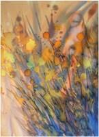 Obraz do salonu artysty Joanna Sadecka pod tytułem Emanacje-richesse