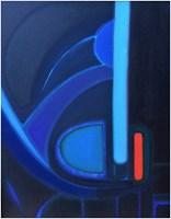 Obraz do salonu artysty Joanna Sadecka pod tytułem Księżycowe impresje