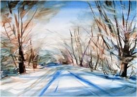 Obraz do salonu artysty Joanna Sadecka pod tytułem W bieli