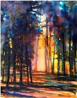Obraz do salonu artysty Joanna Sadecka pod tytułem Iluminacje-gra światła