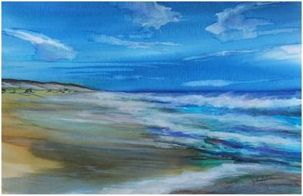 Obraz do salonu artysty Joanna Magdalena pod tytułem Moliets i ocean