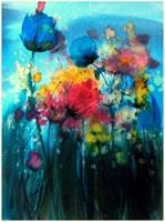 Obraz do salonu artysty Joanna Sadecka pod tytułem Emanacje-kwitnienie