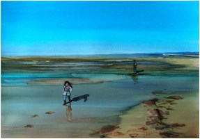 Obraz do salonu artysty Joanna Sadecka pod tytułem Ja wracam do domu