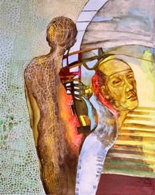 Obraz do salonu artysty Anna Lupa-Suchy pod tytułem Rok później