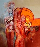 Obraz do salonu artysty Anna Lupa-Suchy pod tytułem Muzyka ciał