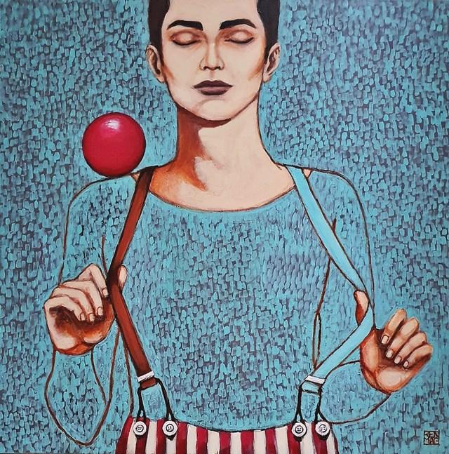 Obraz do salonu artysty Renata Magda pod tytułem iluzjonista