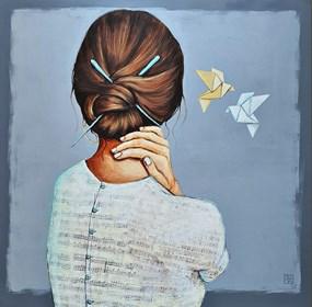 Obraz do salonu artysty Renata Magda pod tytułem Silence...