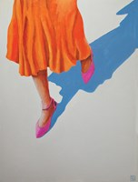 Living room painting by Renata Magda titled Stroll