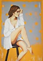 Obraz do salonu artysty Renata Magda pod tytułem Zatrzymana chwila II