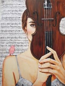 Obraz do salonu artysty Renata Magda pod tytułem Ulotna melodia