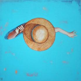 Obraz do salonu artysty Renata Magda pod tytułem W błękicie ...