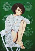 Obraz do salonu artysty Renata Magda pod tytułem Zaklęta w dzwiękach X
