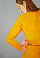 Obraz do salonu artysty Renata Magda pod tytułem a little friend.