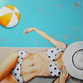 Obraz do salonu artysty Renata Magda pod tytułem Myśli płynące...
