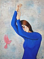 Obraz do salonu artysty Renata Magda pod tytułem Między snem a jawą ...