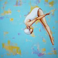 Obraz do salonu artysty Renata Magda pod tytułem Skok