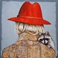 Obraz do salonu artysty Renata Magda pod tytułem frendship