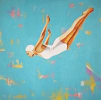Obraz do salonu artysty Renata Magda pod tytułem Skok II