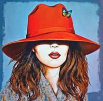 Obraz do salonu artysty Renata Magda pod tytułem red hat