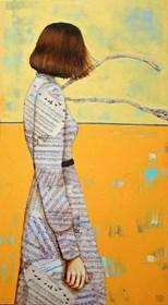 Obraz do salonu artysty Renata Magda pod tytułem Wędrująxe myśli II