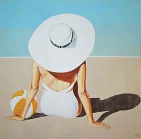 Obraz do salonu artysty Renata Magda pod tytułem Południową porą VI