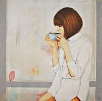 Obraz do salonu artysty Renata Magda pod tytułem O poranku ...