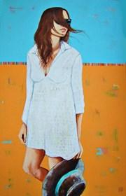 Obraz do salonu artysty Renata Magda pod tytułem Szybujące myśli ...