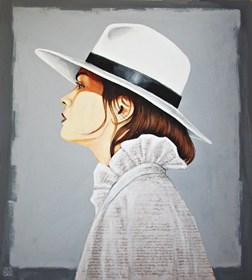 Obraz do salonu artysty Renata Magda pod tytułem W blasku i cieniu ...