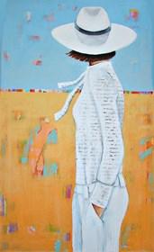 Obraz do salonu artysty Renata Magda pod tytułem Q wiatr i słońce ...