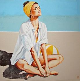 Obraz do salonu artysty Renata Magda pod tytułem W słońcu ...